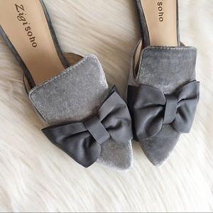 Zigi Soho Carlyne slides mules pointed toe shoes 7